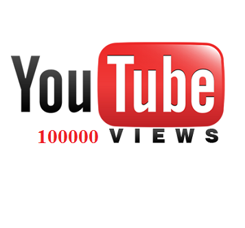 100000 YOUTUBE VIEWS