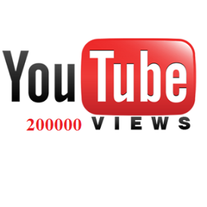 200000 YouTube Views