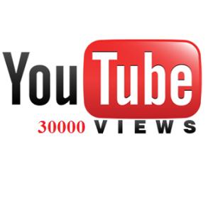 30000 YouTube Views